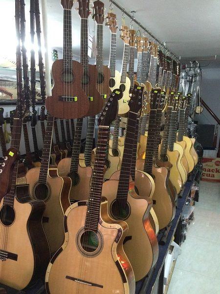 Cửa hàng bán đàn guitar (ghita) uy tín tại Tphcm, Hn