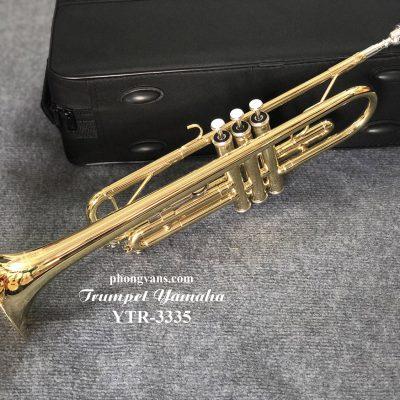 Kèn Trumpet Yamaha vàng YTR-3335