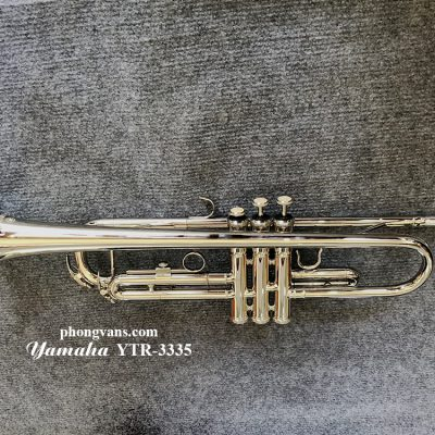 Bán Kèn Trumpet Yamaha trắng giá rẻ