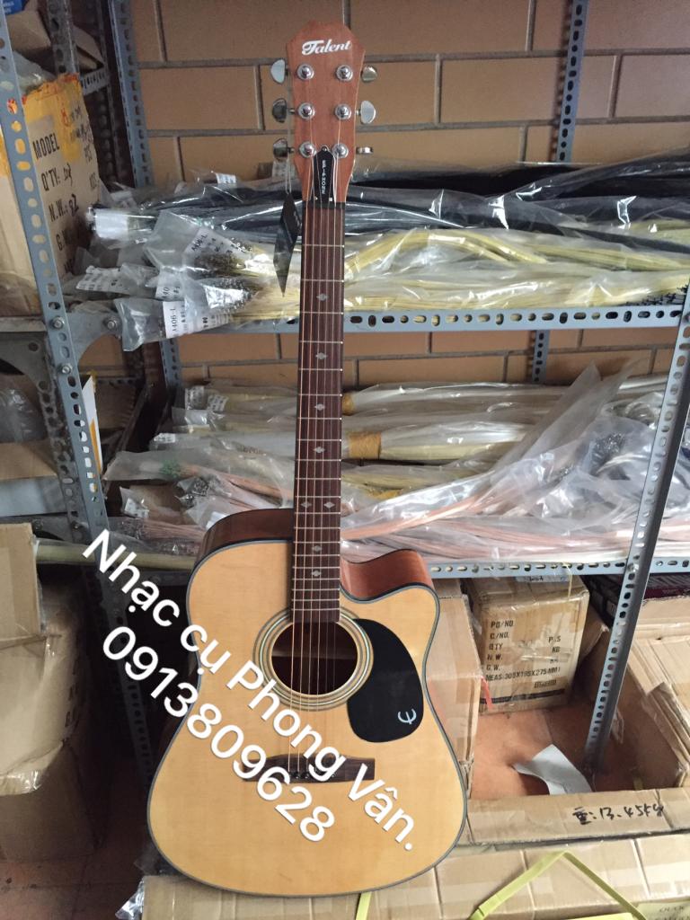 Đàn Guitar acoustic Talent nhập khẩu