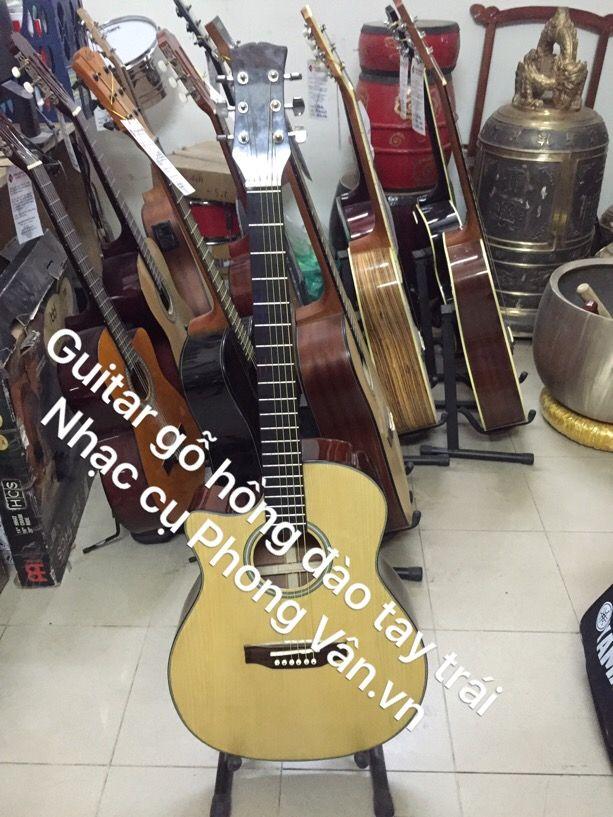 Sỉ lẻ đàn guitar tay trái gỗ hồng đào
