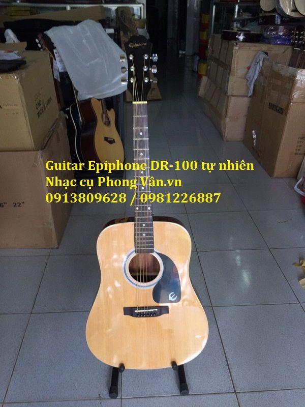 Đàn guitar acoustic Dr-100 màu tự nhiên