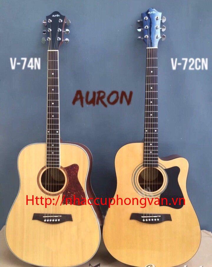 Đàn guitar acoustic Auron V-74N + V-72CN