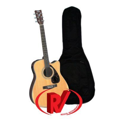 Đàn guitar acoustic Yamaha FS100C Natural & Black