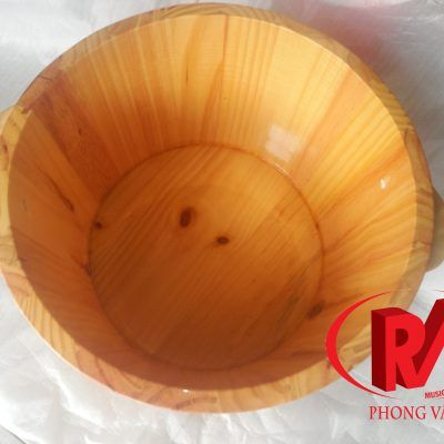 Bồn Ngâm Chân Gỗ Thông CNC-3525