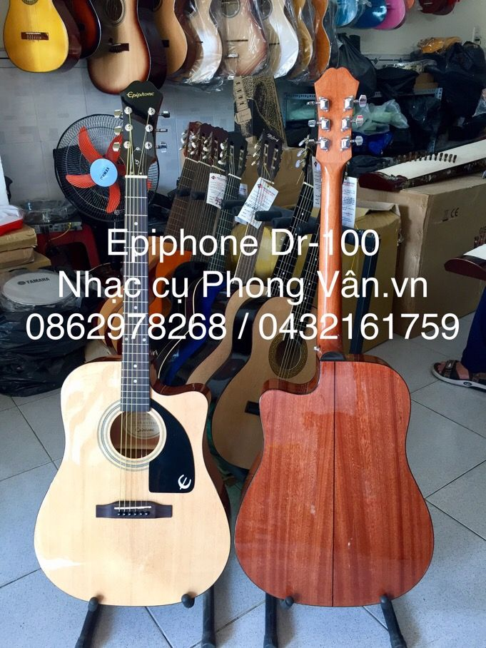 Đàn Guitar Acoustic Epiphone AJ-100