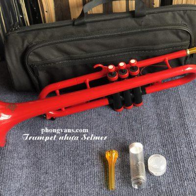 Kèn trumpet nhựa kèn trombone plastic trường Quốc tế