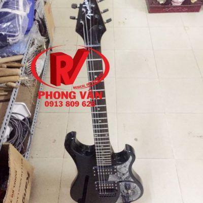 Đàn guitar điện solo Fender đen