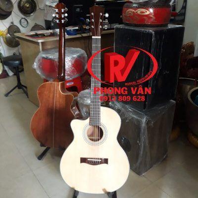 Đàn guitar acoustic tay trái