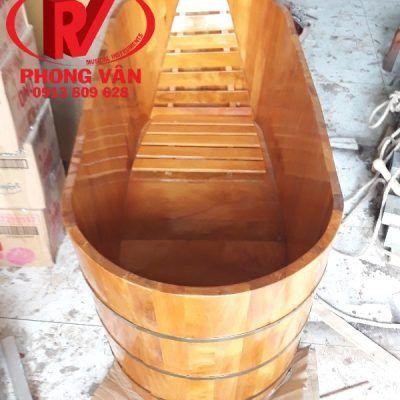 Bồn tắm bằng gỗ pơmu dài 152 cmdata-cloudzoom =