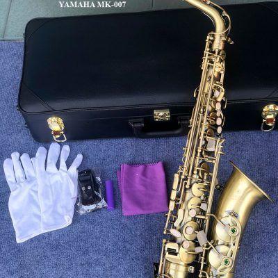 Kèn saxophone alto Yamaha màu đồng