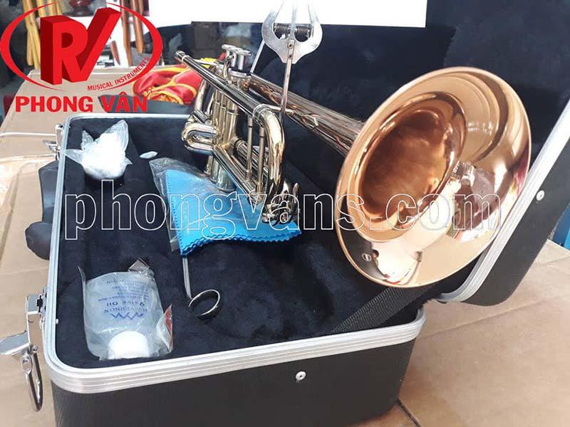 Kèn trumpet Victoria 3 màu loa đỏ