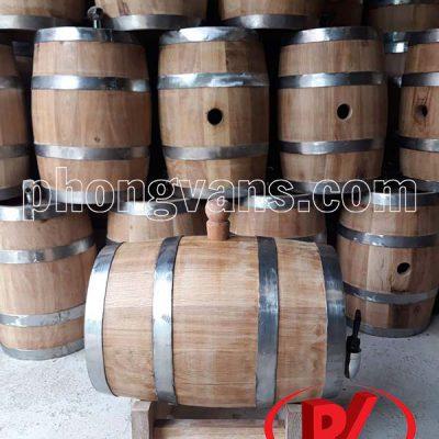 Thùng gỗ sồi đựng rượu vang 7 lítdata-cloudzoom =