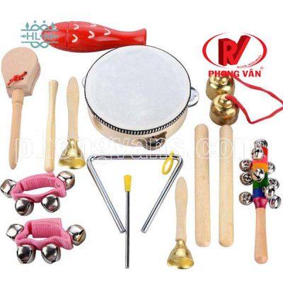Bộ đồ chơi âm nhạc cho trẻ bé mầm non