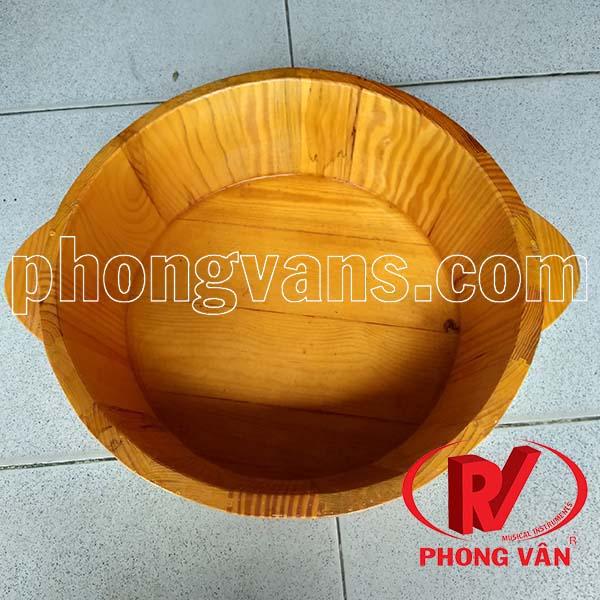 Bồn rửa mặt bằng gỗ thông