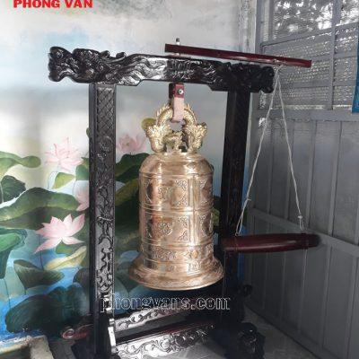 Chuông đồng 1 tạ cao 100 cm
