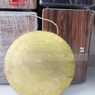 Trinh Lệnh đồng vàng 36 cm