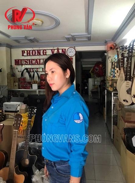 Áo hội liên hiệp thanh niên Việt Nam do công ty thiết bị trường học Phong vân sản xuất