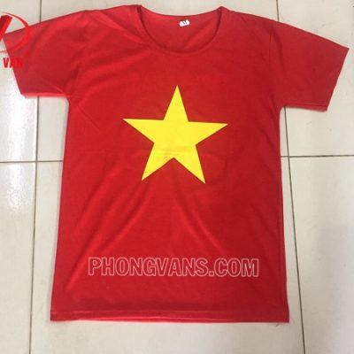 Áo phông cờ đỏ sao vàng tôi yêu Việt Nam