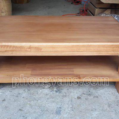Bàn gỗ thông ngồi bệt