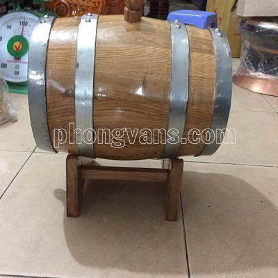 Bình đựng rượu gỗ sồi 8 lít