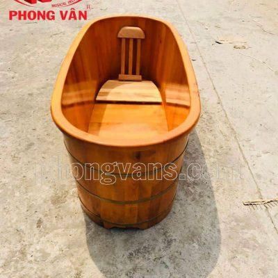 Bồn tắm ngâm bằng gỗ