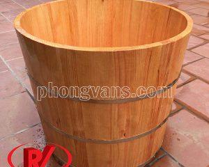 Bồn tắm gỗ tròn giá bao nhiêu