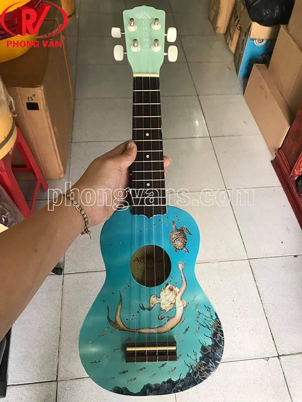 Đàn ukulele màu có hình