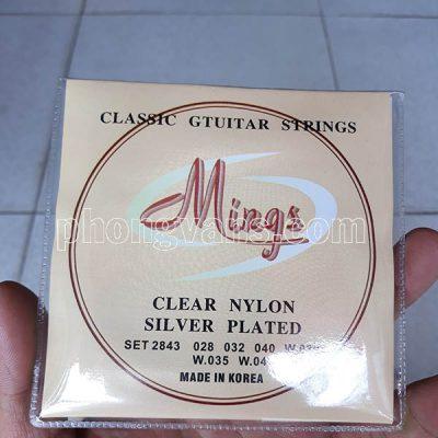 Dây đàn classic guitar strings Mings