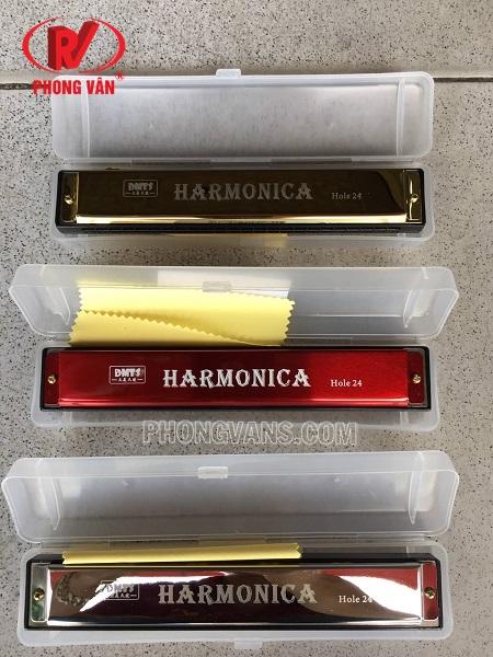 Kèn Harmonica tremolo Hole 24 DMTS