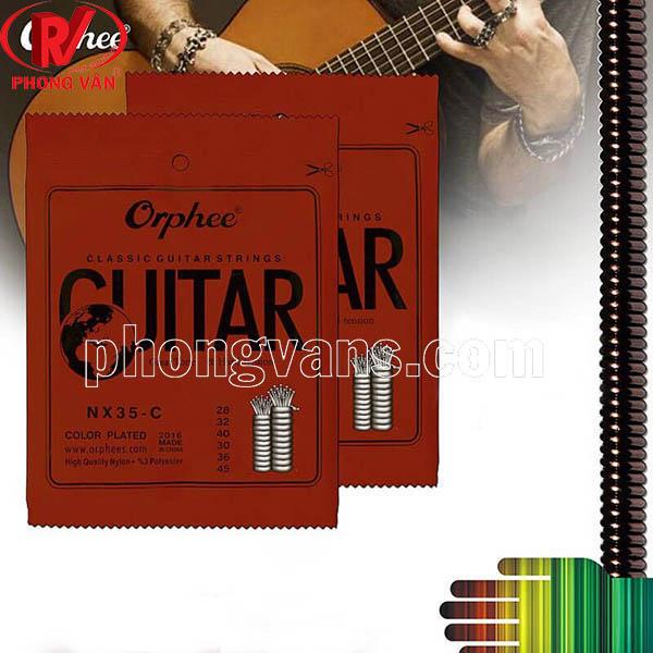 Set dây đàn guitar Orphee cổ điển