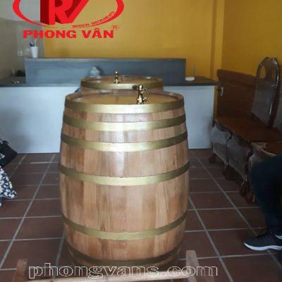 Thùng gỗ sồi ngâm rượu TP HCM