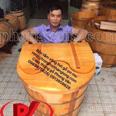 Giá bồn tắm gỗ xông hơi toàn thân