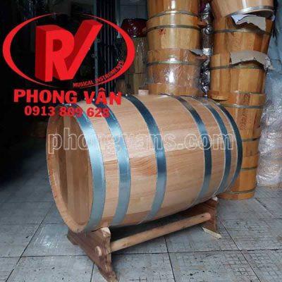 Thùng rượu gỗ sồi nga 100 lít trắng
