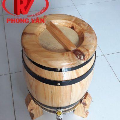 Trống gỗ đựng rượu
