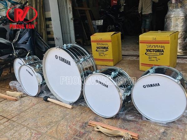 Trống đội inox Yamaha size lớn 20 inch