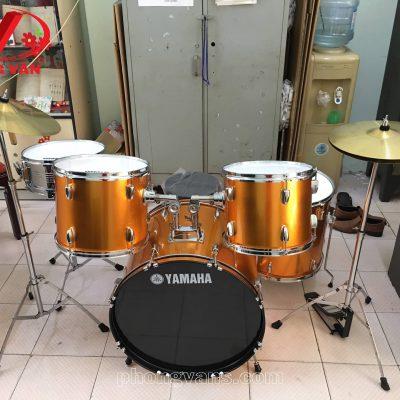 Bộ trống jazz drum yamaha màu cam
