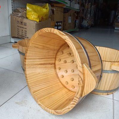 Bồn ngâm chân gỗ