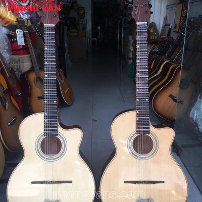 Giá đàn guitar thùng vọng cổ