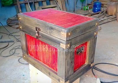 Rương gỗ giả cổ điển