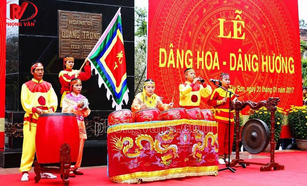 Bán trống trận Tây Sơn Bình Định