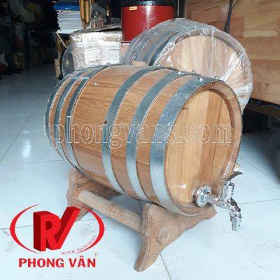 Bán thùng gỗ sồi Tphcm