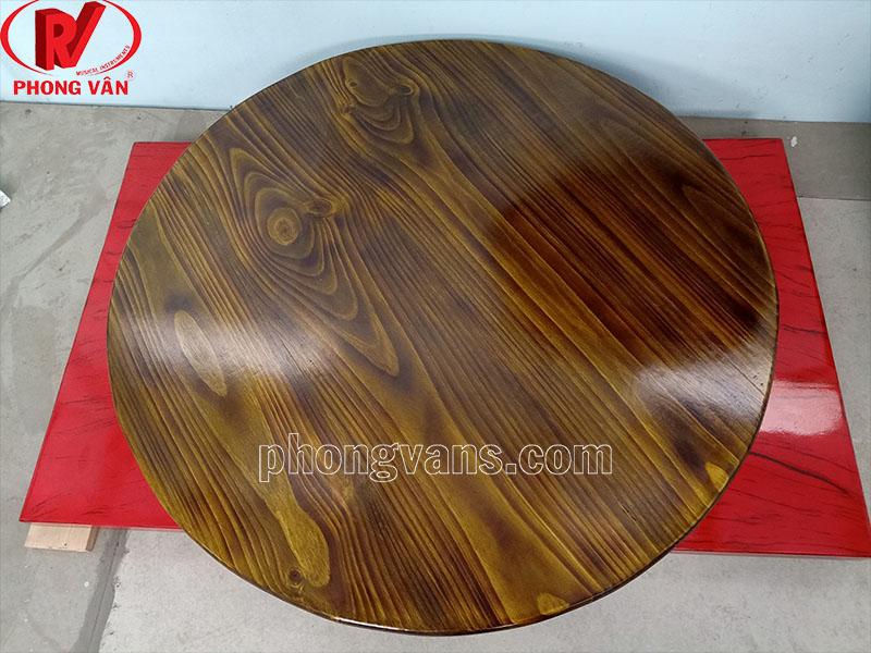 Cơ sở sản xuất mặt bàn gỗ thông