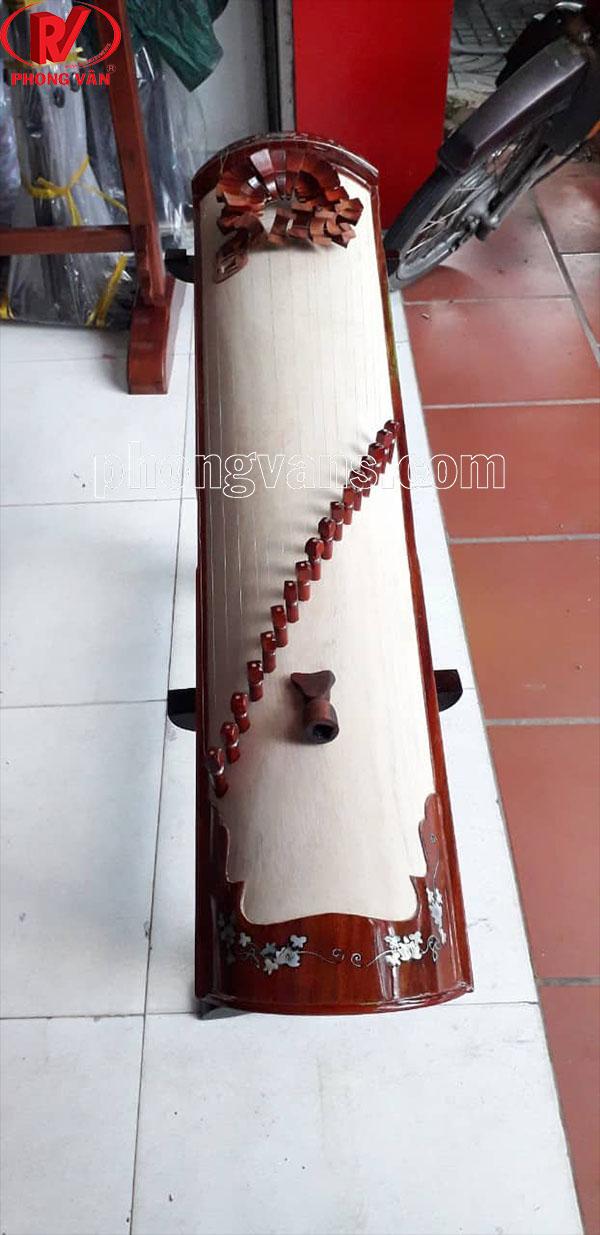 Đàn tranh gỗ hương 17 dây khảm trai