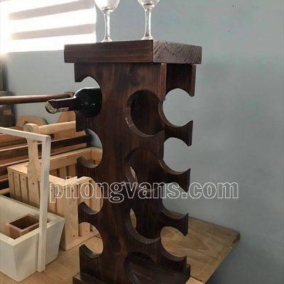 Kệ gỗ thông để chai rượudata-cloudzoom =