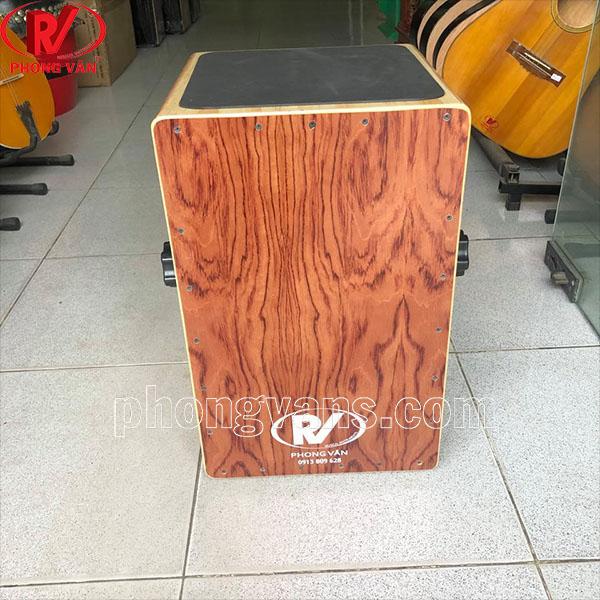 Trống cajon gỗ thông bế 4 cạnh