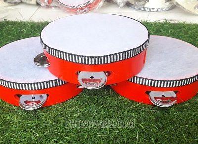 Trống tambourine nhỏ vỗ tay cho trẻ em 6inch