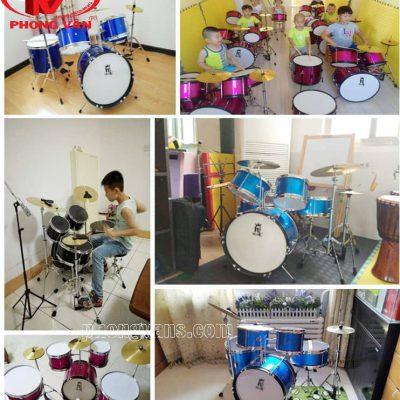 Bộ trống dàn nhạc jazz cho bé chơi chuyên nghiệp