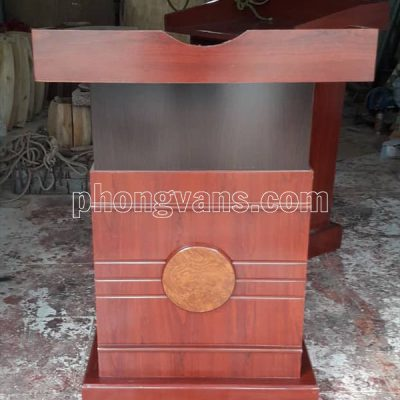 Bục phát biểu LT04 bằng gỗ công nghiệp