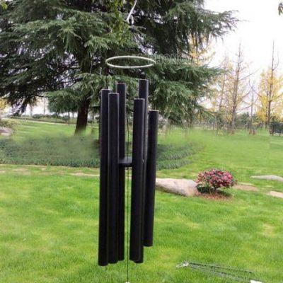 Chuông gió kim loại phong thuỷ 6 ống 65 inch